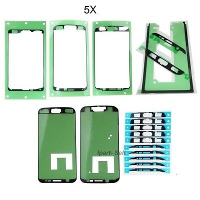 5x OEM LCD Screen Adhesive Tape Sticker For Samsung Note 5 S5 S6 Edge S7 S7 Edge
