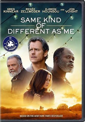 Same Kind Of Different As Me DVD 2017 Brand NEW Kinnear ZellwegerFREE SHIP