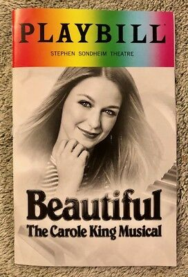 Beautiful Pride Playbill - Melissa Benoist debut Brand New Free shipping