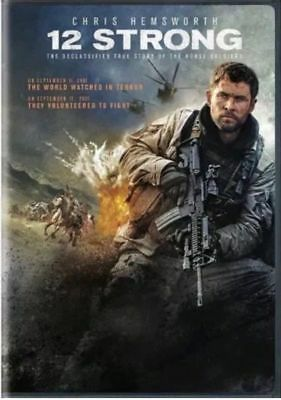 12 Strong DVD2018 Brand NEW Drama War History  NOW SHIPPING FREE