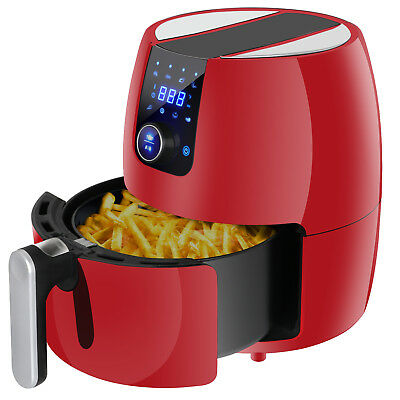 Kitchen Healthy Appliance Deep Air Fryer Touch Screen Temperature Control 3-7Qt