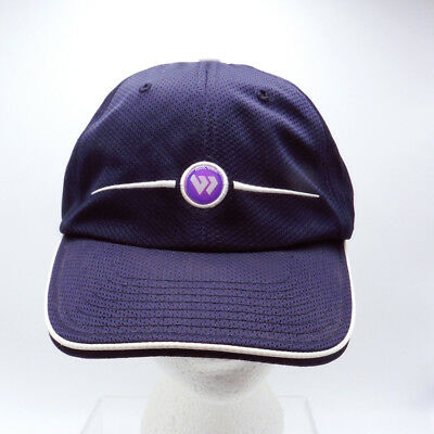 Wimbledon Official Cap Flying W logo Adjustable Strapback 2-5 inch bill