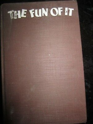 Amelia Earhart SIGNED The Fun of it 1st ed 1st printing WITH record 1932