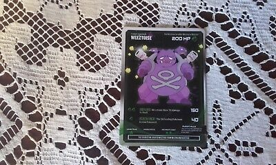 Weeztoise Fusion pokemon card