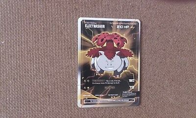 Electrasaur Fusion pokemon card
