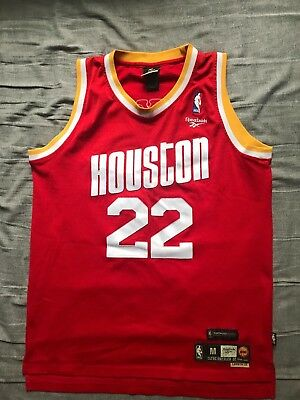 Mens Reebok NBA Houston Rockets jersey Clyde Drexler 22 size M