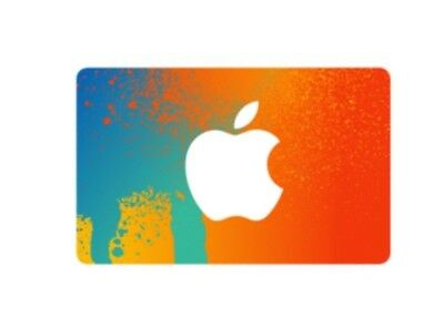 1 Day Auction 100 Apple App Store iTunes Gift Card Free Shipping to home