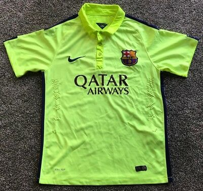 Nike FC Barcelona 2014 Men's Soccer Jersey Size Medium