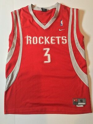 Vintage Houston Rockets Steve Francis Nike Red Jersey - SEWN- - Adult Small