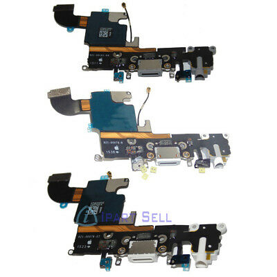 OEM New Charger Dock Charging Port Audio Jack Mic Flex Cable For iPhone 6S 4-7