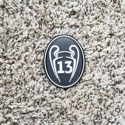 2018 UEFA CHAMPIONS LEAGUE Real Madrid Soccer patch 13 TROPHY badge  patch