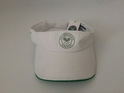 Wimbledon The Championships England Tennis Lawn Club Visor Cap One Size