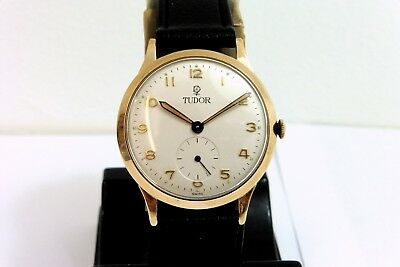 1960 GENTS 9K GOLD ROLEX TUDOR IN EXCELLENT CONDITION