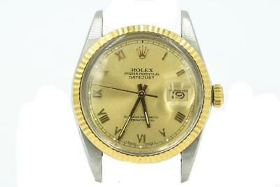Mens Two-Tone Rolex Datejust Ref 16013 R Series Circa 1987