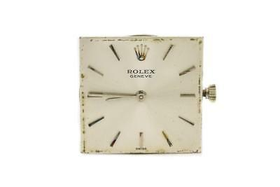 Mid-Size 18k White Gold Rolex Cellini Ref 6103659 Wristwatch Circa 1960