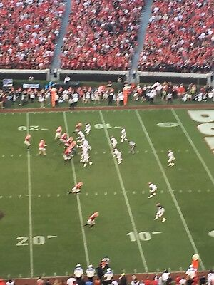 2 TICKETS UGA vs- TENNESSEE SECTION 330 ROW 21 SEASON TICKET HOLDER