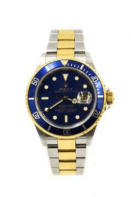 Rolex Mens Two Tone Submariner With Box - Papers Ref 16613 Circa 2006-7