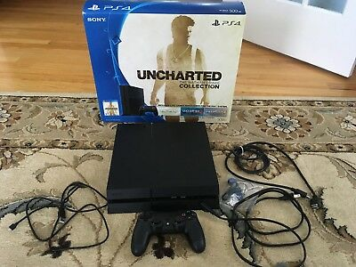 Sony PlayStation 4 System 500GB Console  Very Nice and Adult Owned  PS4