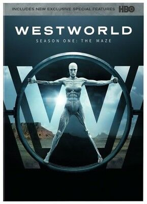 Westworld The Complete First Season DVD 2017 NEW