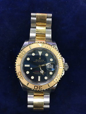 Rolex Yacht-Master 16623 18K Yellow Gold - Steel Automatic Mens Watch
