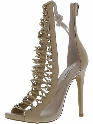 Steve Madden Womens Flash Ankle-High Leather Pump