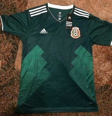 Mexico National Team Medium M Jersey 2018 World Cup New Futball Soccer