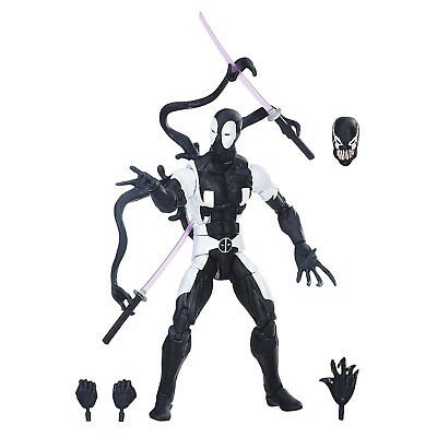 Marvel Legends Series Deadpool Back in Black Action Figure Game Stop Exclusive