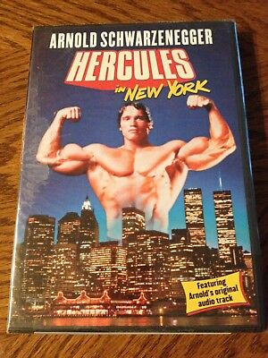 HERCULES in NEW YORK Arnold Schwarzenegger SEALED DVD