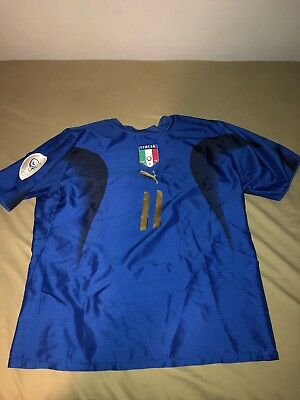 Italy 2006 World Cup Jersey Medium