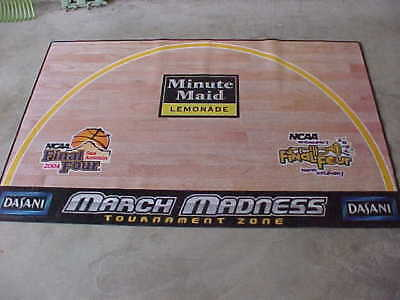 NCAA 2004 Final 4 Basketball San Antonio New Orleans MARCH MADNESS Floor Mat