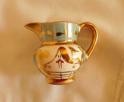 Cumbow Gold Lustre Ware Pitcher