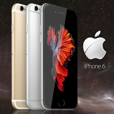 NEW Apple iPhone 6 16GB 64GB Factory Unlocked Gold Silver Space Gray GSM IOS