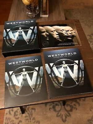Westworld Season One The Maze 3-Disc Blu-Ray HBO Like New - No Digital Copy