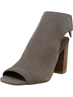 Steve Madden Womens Hitched Nubuck Ankle-High Leather Pump