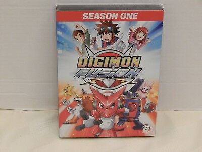 Digimon Fusion New DVD Boxed Set Widescreen