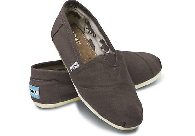 Toms Womens Classic Ash-Grey Size 8-5