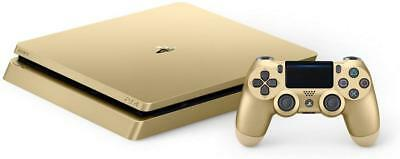Sony PlayStation 4 Slim Limited Edition 1TB Gold Console Bundle CUH-2015B - UD