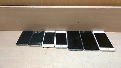Lot of 7 FOR PARTS Apple iPhonesiPods