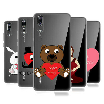 OFFICIAL PLDESIGN LOVE AND HOPE SOFT GEL CASE FOR HUAWEI PHONES