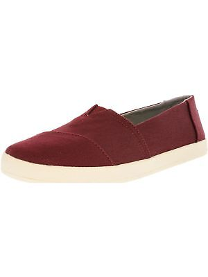 Toms Womens Avalon Ankle-High Canvas Slip-On Shoes