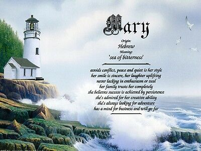 Lighthouse2 Name Meaning Prints Personalized Inspirational Nautical Ocean