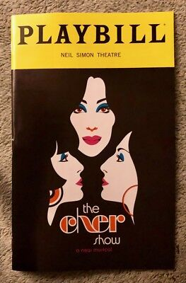 The Cher Show playbill Opening Night Broadway - Brand New - Free Flyers