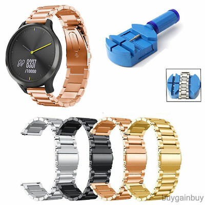 Stainless Steel Strap Watch Band Bracelet For Samsung Galaxy Watch SM-R800 46MM