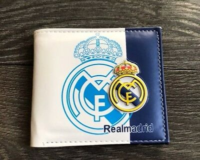 Real Madrid Wallet PU Leather 2018 US Shipping