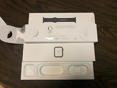 Apple Watch Series 4 44mm Space Gray Empty Box Only with Inserts A1978 Read Desc