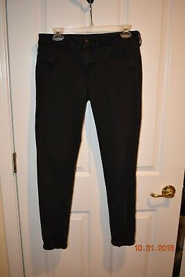 American Eagle Outfitters Black Jeggings Size 10
