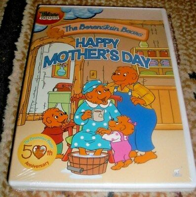 NEW Treehouse Presents The Berenstain Bears Happy Mothers Day DVD