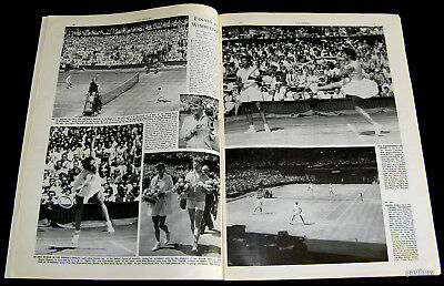WIMBLEDON TENNIS 1956 PICTORIAL ALTHEA GIBSON LEW HOAD SHIRLEY FRY ANGELA BUXTON