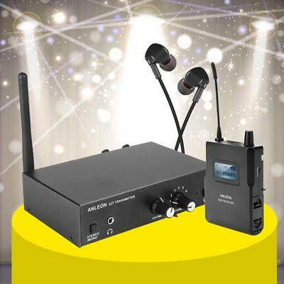ANLEON S2 UHF Stereo Monitor System Wireless In-ear Stage Trasmitter Receiver