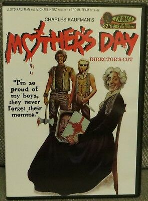 Mothers Day Troma Mint w Insert Out Of Print OOP DVD